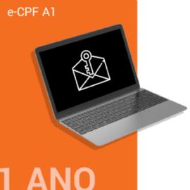 E-CPF A1 - ARMAZENADO NO COMPUTADOR