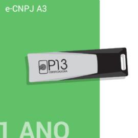 E-CNPJ A3 1 ANO + TOKEN