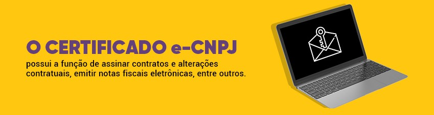 Certificado e-CNPJ