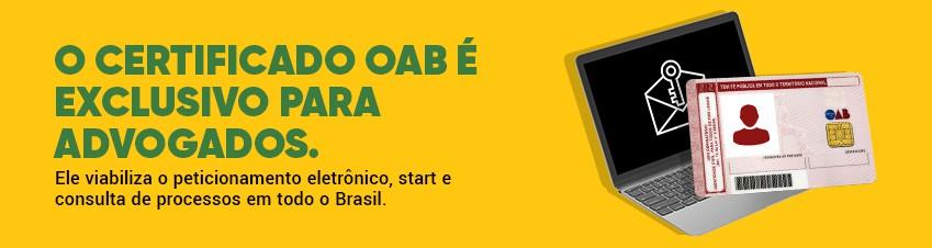 CERTIFICADO OAB