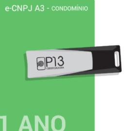 E-CNPJ A3 1 ANO + TOKEN - CONDOMÍNIO